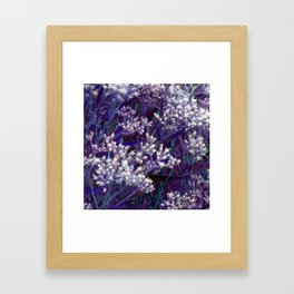 Bunches of Tiny Flowers Framed Art Print