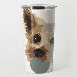 Rex in cream Travel Mug