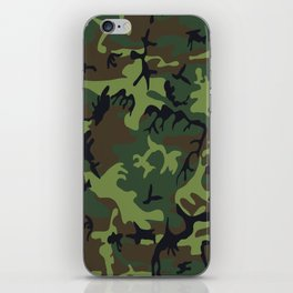 Army Camouflage iPhone Skin