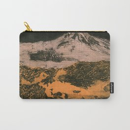 serene volcano Carry-All Pouch
