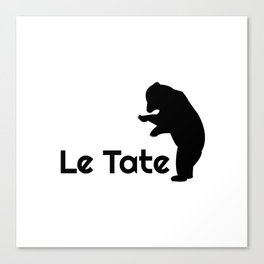 SAVE THE PLANET - LE TATE Canvas Print