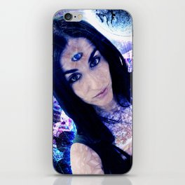 Queen of time iPhone Skin