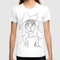 milan T-shirts featuring Milan by Plutonian Oatmeal