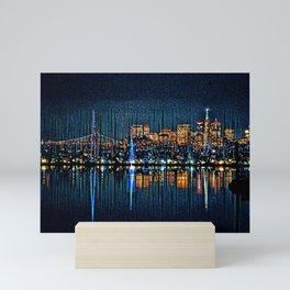 San Francisco Christmas Mini Art Print