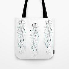 Poetic JellyFish Tote Bag