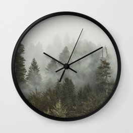 Adventure Times - Nature Photography Wall Clock