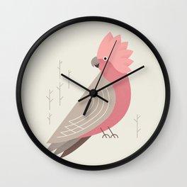 Galah, Bird of Australia Wall Clock