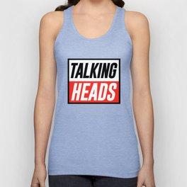 TALKING HEADS Unisex Tank Top