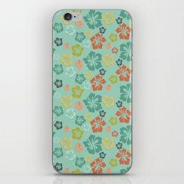 Hibiscus Love iPhone Skin
