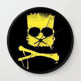 Pochoir - Bart Wall Clock