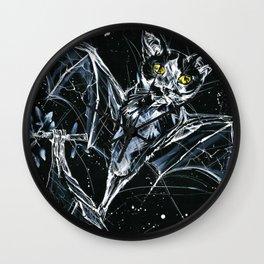 Batcats Wall Clock