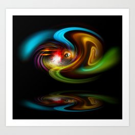 Abstract Perfection - Magical Light And Energy 2 Art Print