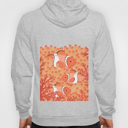 Clown fish - Mandarin Garnet Hoody