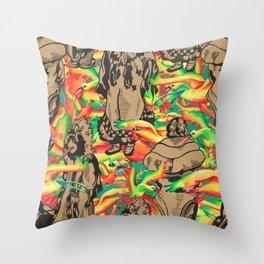 Eskimo Curlew I Throw Pillow