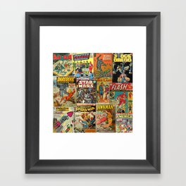 Comics Framed Art Print