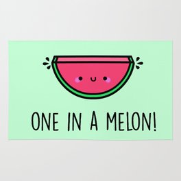 One in a Melon! Rug