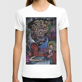 Tentacle Mind Enigma-Painting By Landon Huber T-shirt