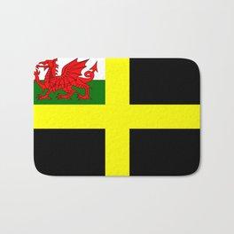 Flag of Saint David Bath Mat