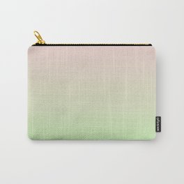 Pastel Ombre Millennial Pink Green Gradient Pattern Carry-All Pouch