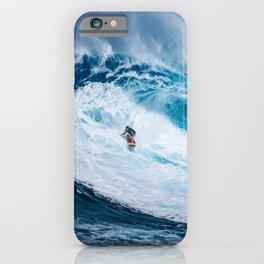 Surf (amazing wave) iPhone Case