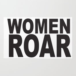 WOMEN ROAR Pop Art Rug