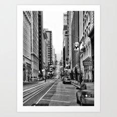 S.F. Art Print