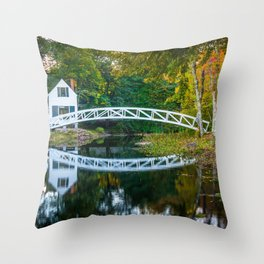 Selectmen's Building 01 Throw Pillow