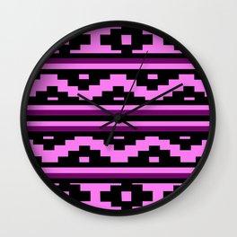 Etnico violet version Wall Clock