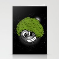 afro Stationery Cards featuring Mundo Afro by Juan Pivaral