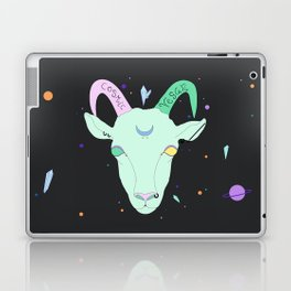 Vegan Cosmic Goat Laptop & iPad Skin
