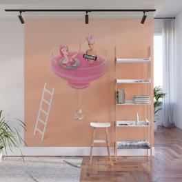 Margarita tub Wall Mural