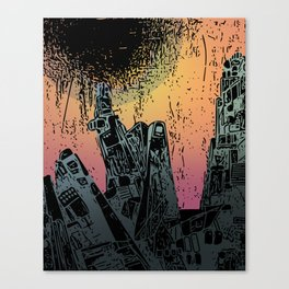 Eveningscape Canvas Print