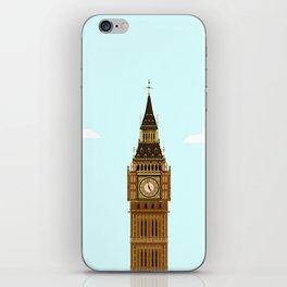 Big Ben Blue Skies iPhone Skin