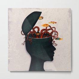 Blow My Mind Metal Print