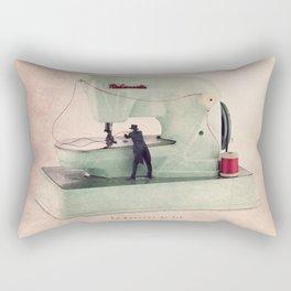 The threader Rectangular Pillow