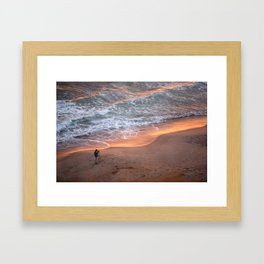 The Sun Rises On The East and Sets On The West Framed Art Print