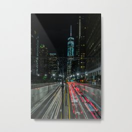 The Speed of Light Metal Print