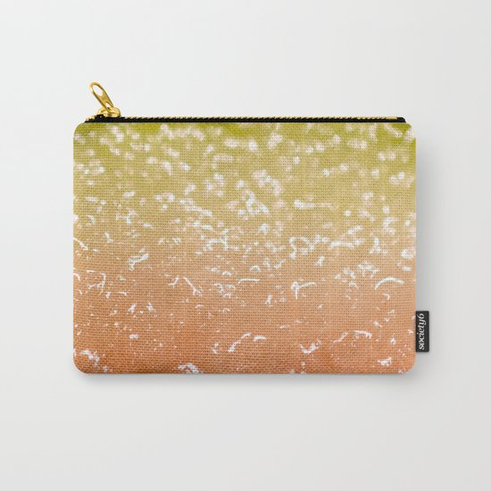 Watermelon Ombre Carry-All Pouch