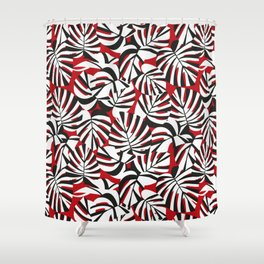 PLANT / pattern pattern Shower Curtain