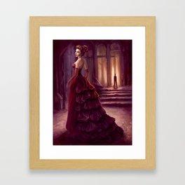 Don't Look Back - fantasy art Framed Art Print