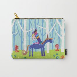 In the Land of Unicorns Carry-All Pouch