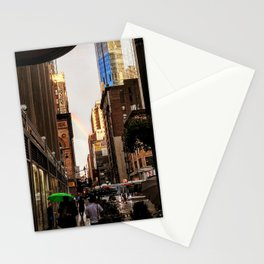 33rd Street with Rainbow Stationery Cards