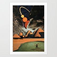 contos da toca... Art Print