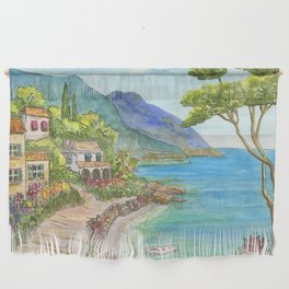 Seaside Village Wall Hanging