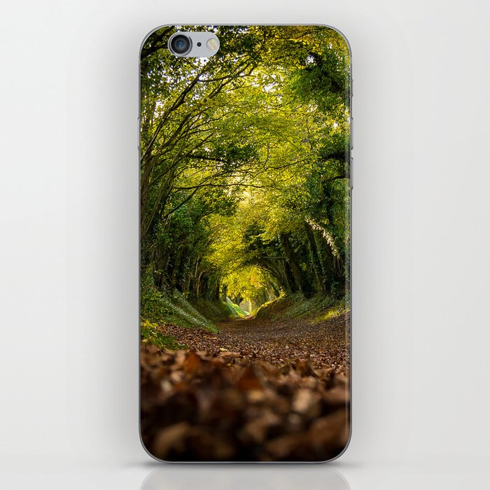 Green Tunnel Vision iPhone Skin