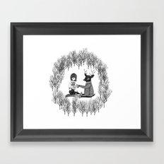 Forest Tea Time Framed Art Print