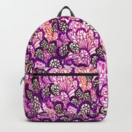 Purple wings Backpack