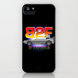 B2F iPhone Case