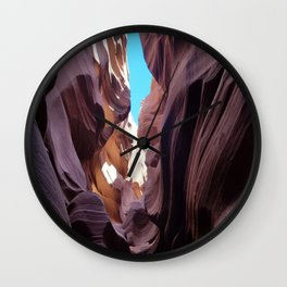 Antelope Canyon  #9 Wall Clock
