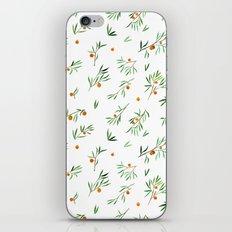 orange - subtle pattern iPhone & iPod Skin